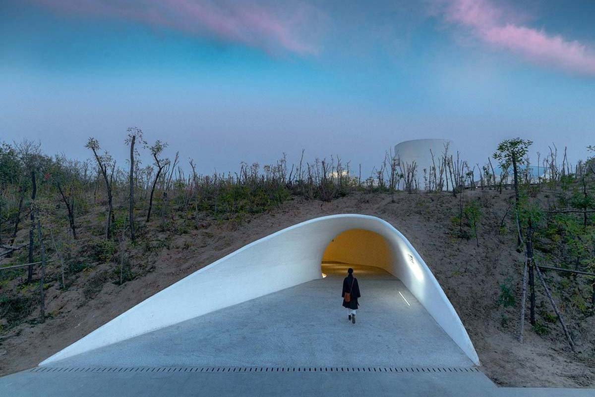UCCA Dune Art Museum, Qinhuangdao, Bohai Bay, China
