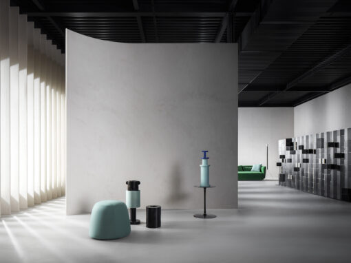 Il nuovo showroom di MDF Italia - ph:Thomas Pagani