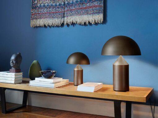 Atollo by Oluce, Design Vico Magistretti