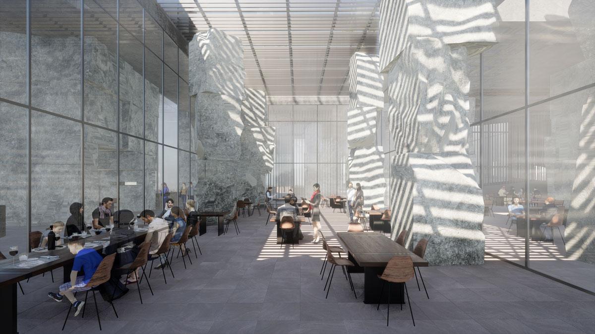 MENA Grad Show, Reconstructing Mass by Alina S. and Mary K., Dubai Design Week 2020
