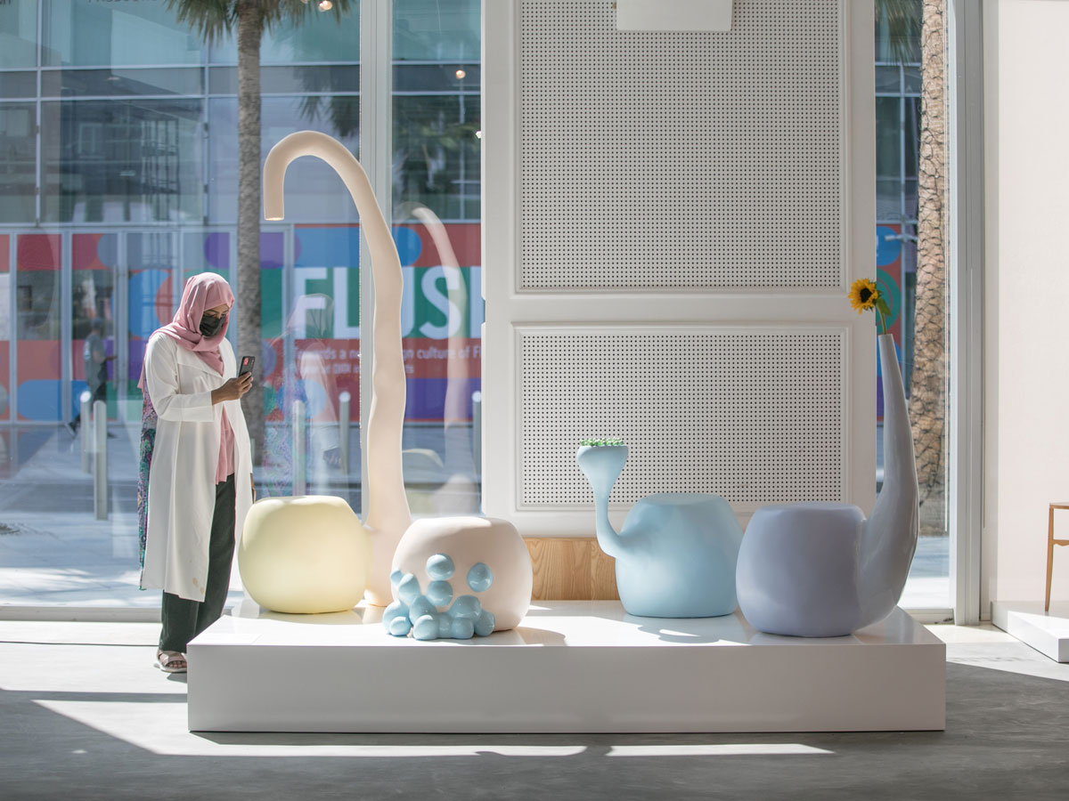 UAE Designer Exhibition, Symbiotic Forms by Tamara Barrage, Dubai Design Week 2020