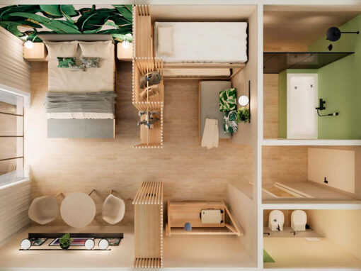 Green&Family by MIROarchitetti for R|o|o|m