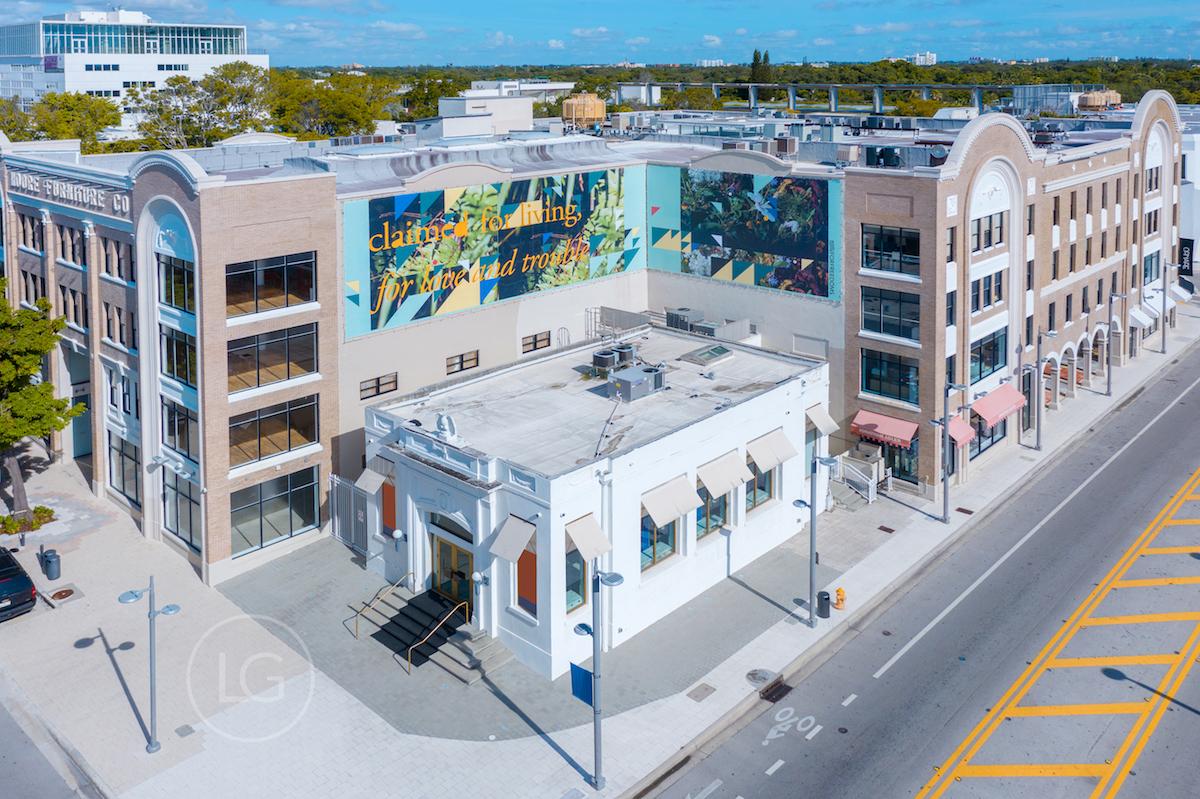 The Moore Building nel Miami Design District