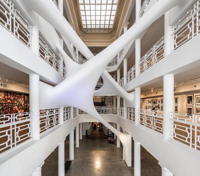 Moore Building, interior