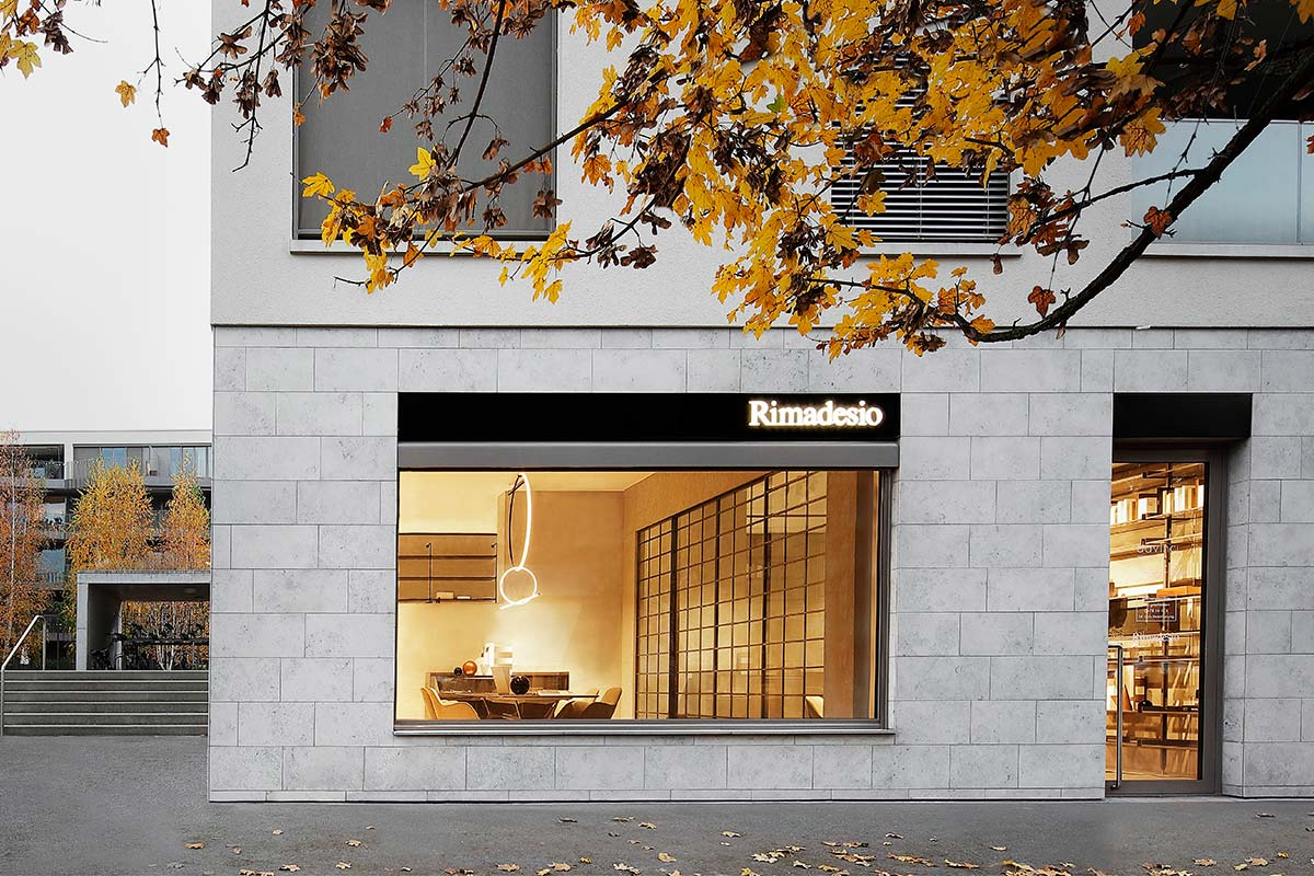 Rimadesio, new opening Emmen, Lucerna
