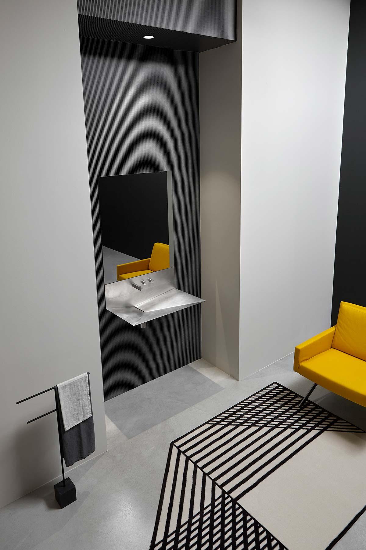Lavandino by antoniolupi - Design Francesca Braga Rosa & Ivano Vianello