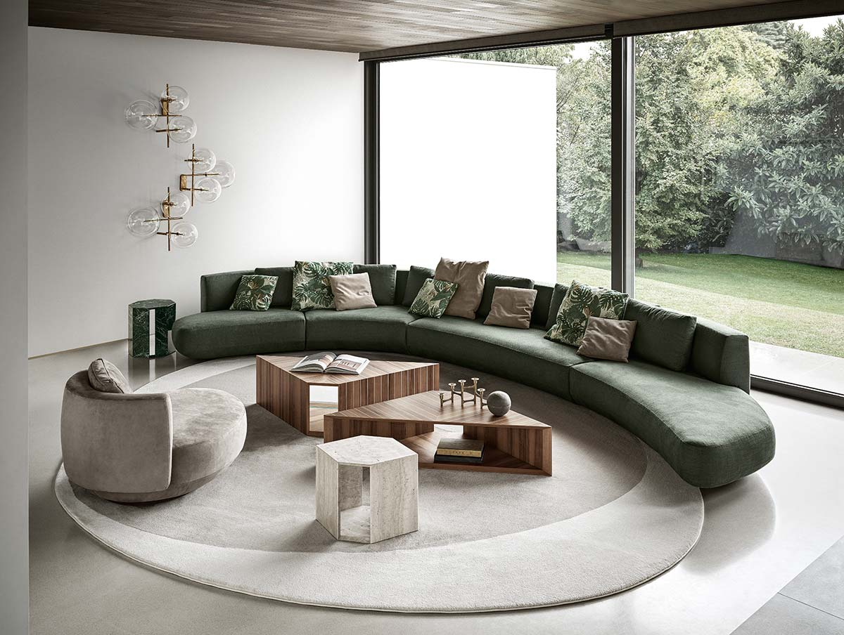 Audrey Motion by Gallotti&Radice, Design Massimo Castagna