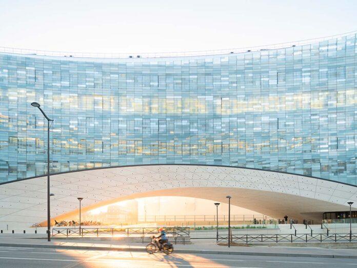 HQ Le Monde by Snohetta. Photo © Jared Chulski