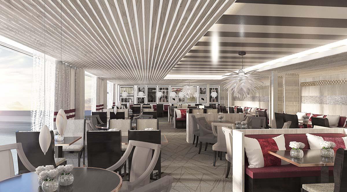 Luminae restaurant, Celebrity Edge