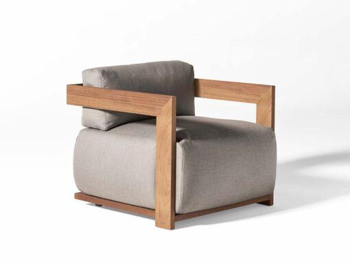 Meridiani, Claud open air armchair