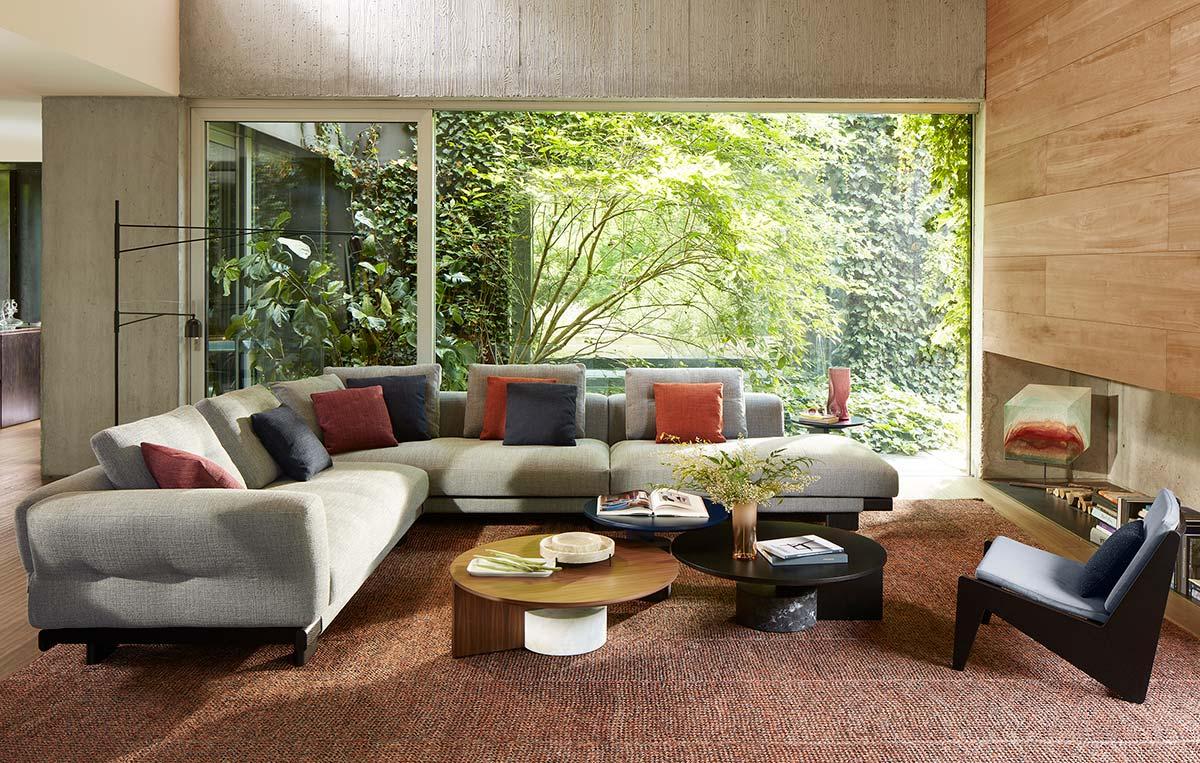 Sengu Sofa by Cassina, Design Patricia Urquiola - Photo © DePasquale+Maffini