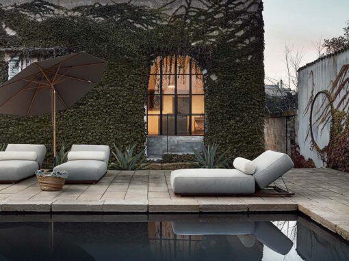 Claud Open Air by Meridiani, Design Andrea Parisio