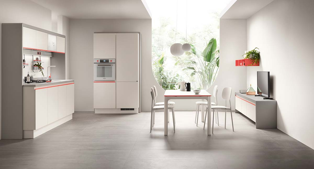 Dandy Plus by Scavolini, Design Fabio Novembre