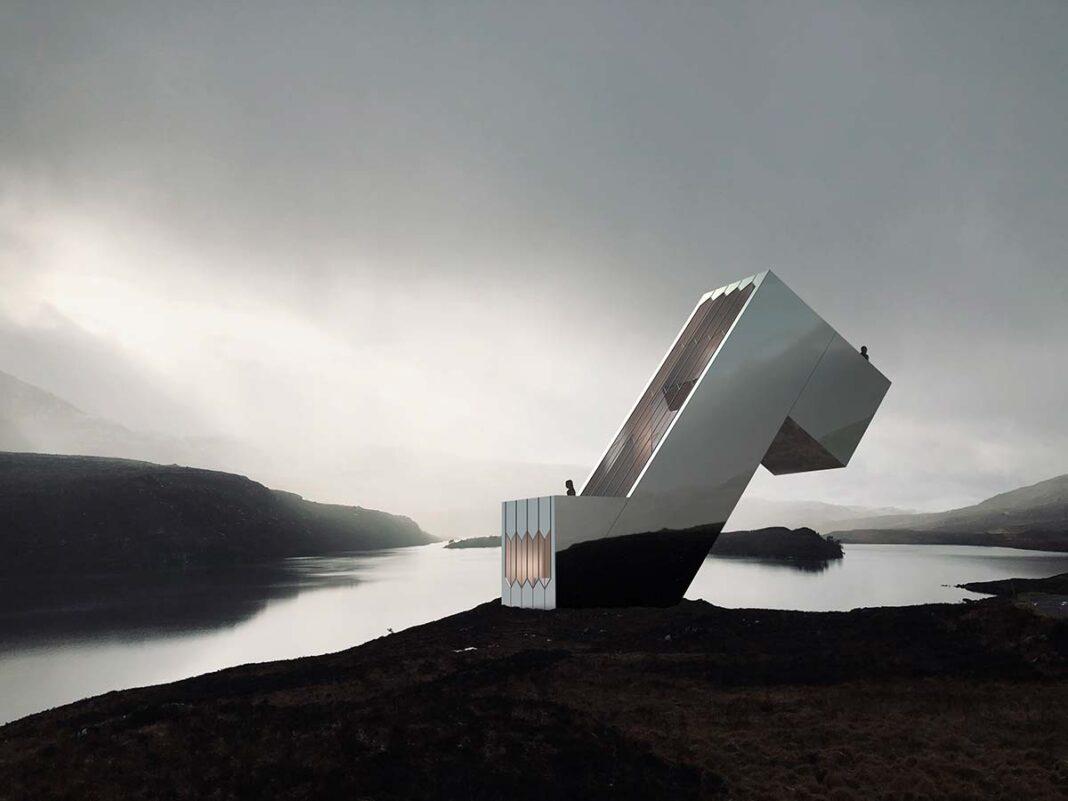 Diagonal Dwelling by NYDE