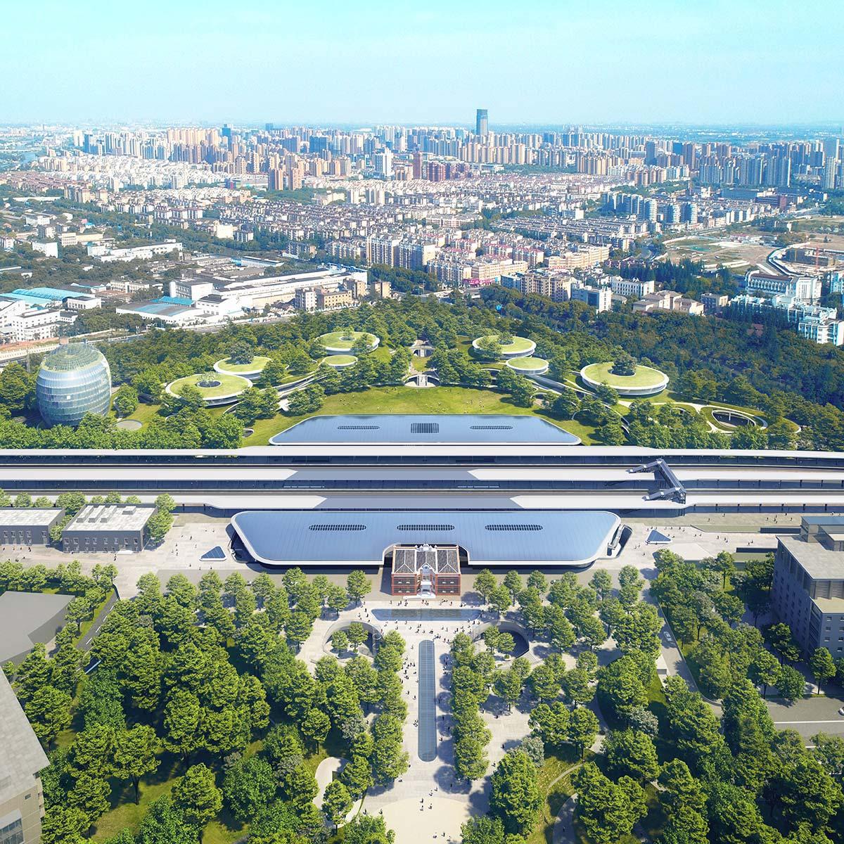 Jiaxing Train Station