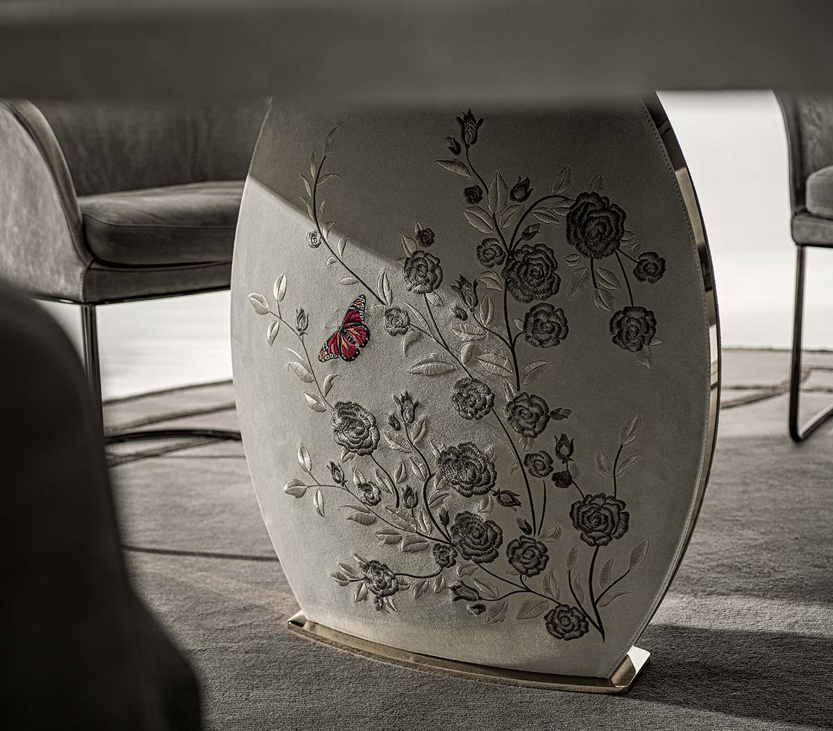 Longhi, tavolo Lotus