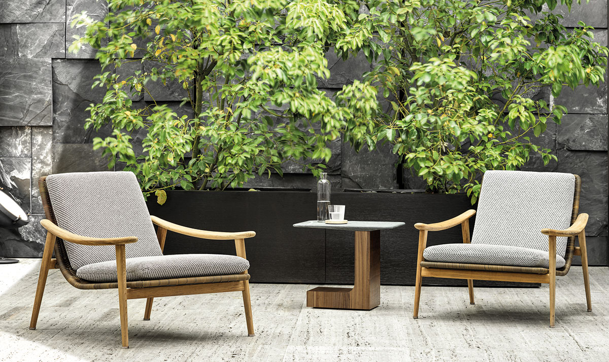 Minotti, Fynn Outdoor by Gamfratesi