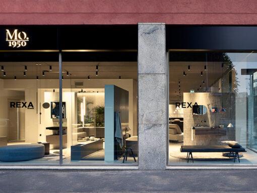 Il nuovo showroom di Rexa Design a Milano