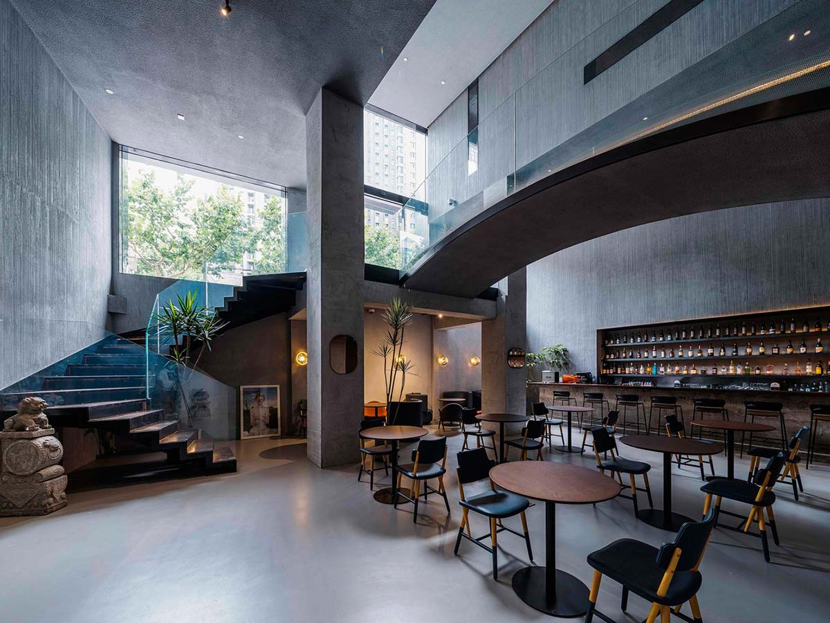 NEOBridge hotel by Xing Design. Photo © courtesy of Xing Design