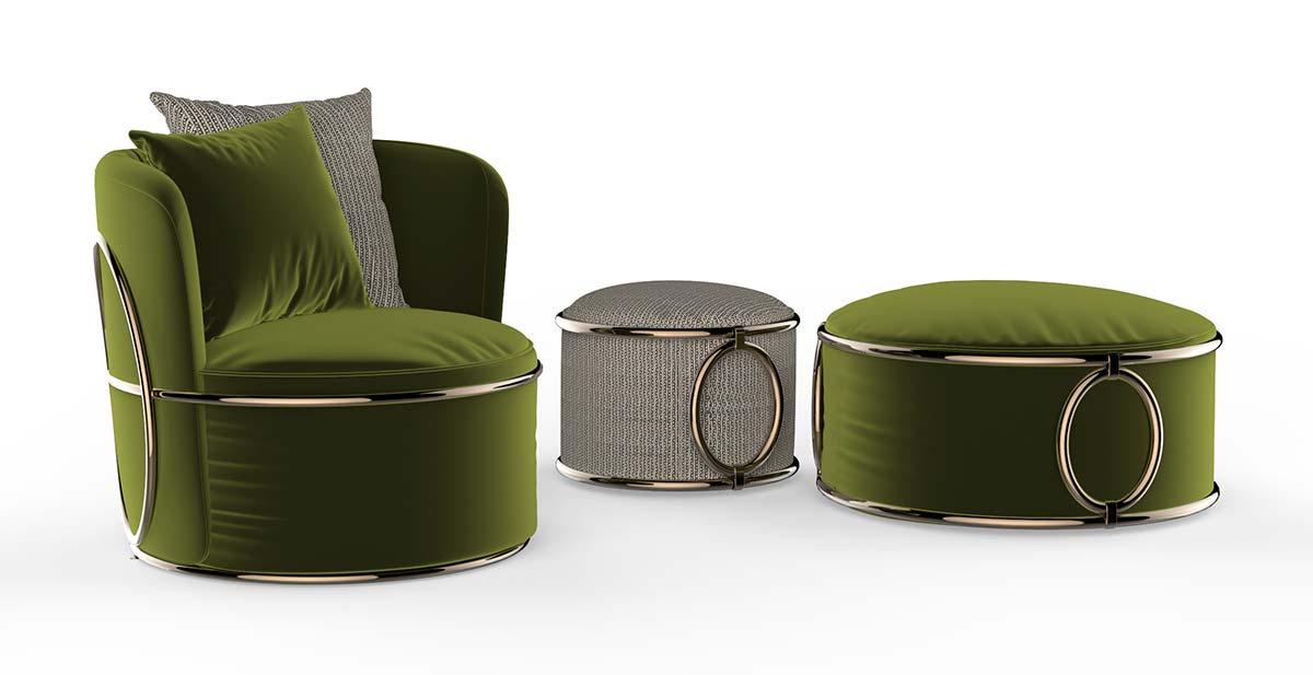 Oval by Trussardi Casa, Design Carlo Colombo
