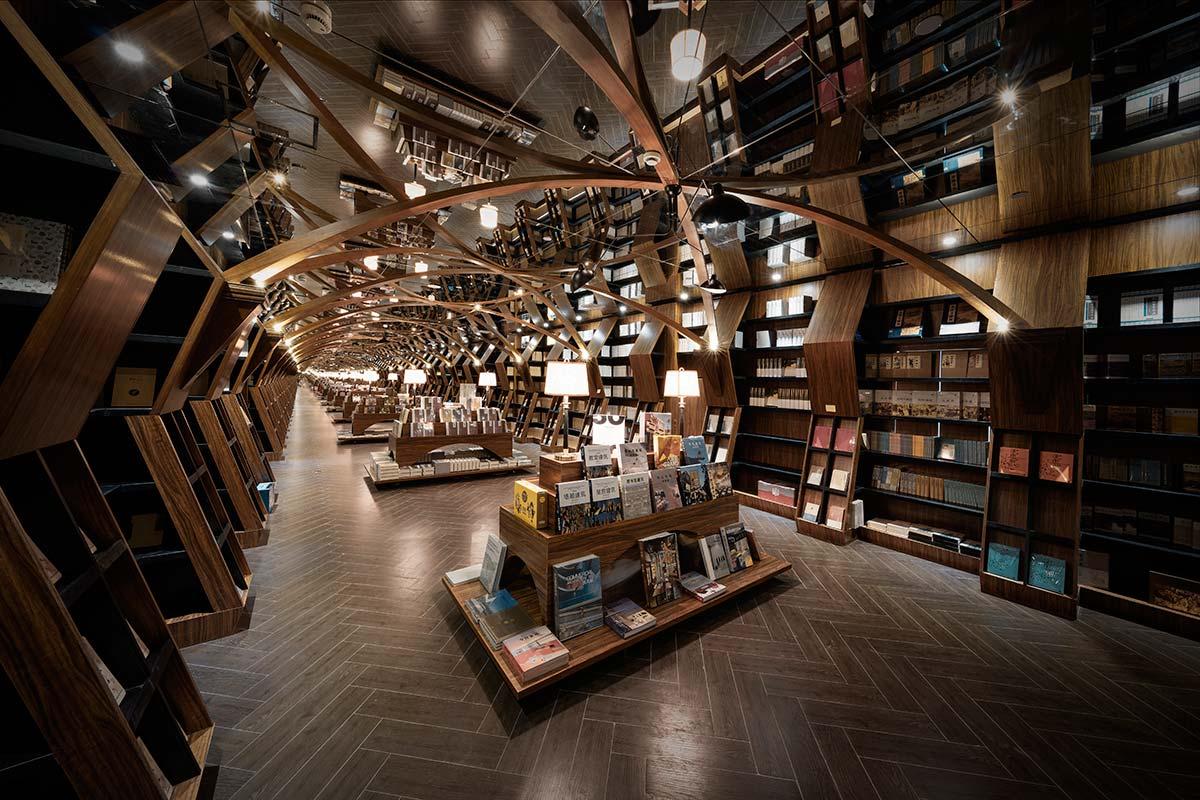 Shanghai Zhongshuge Minhang bookstore by X+Living