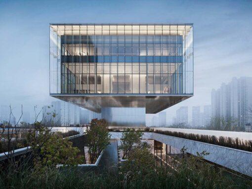 Sunac · Grand Milestone Modern Art Center, Xi'an, China - Photo © Qilin Zhang