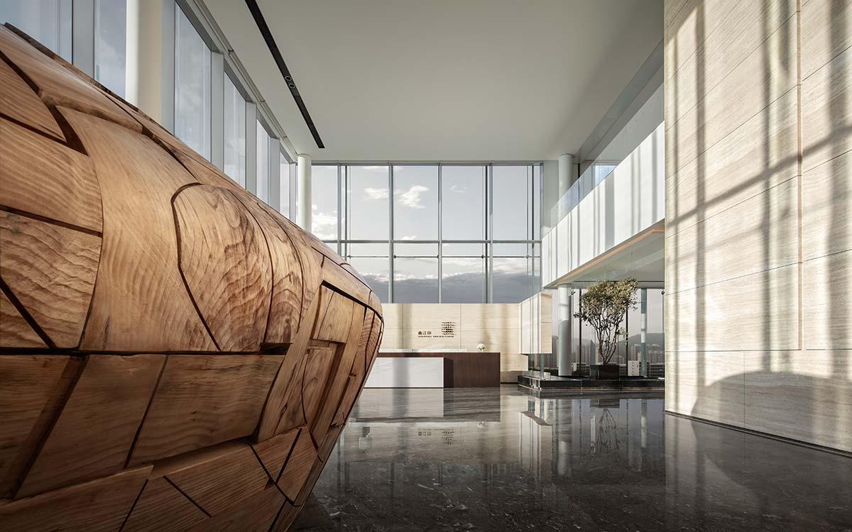 Sunac · Grand Milestone Modern Art Center, Xi'an, China - Photo © Ting Wang