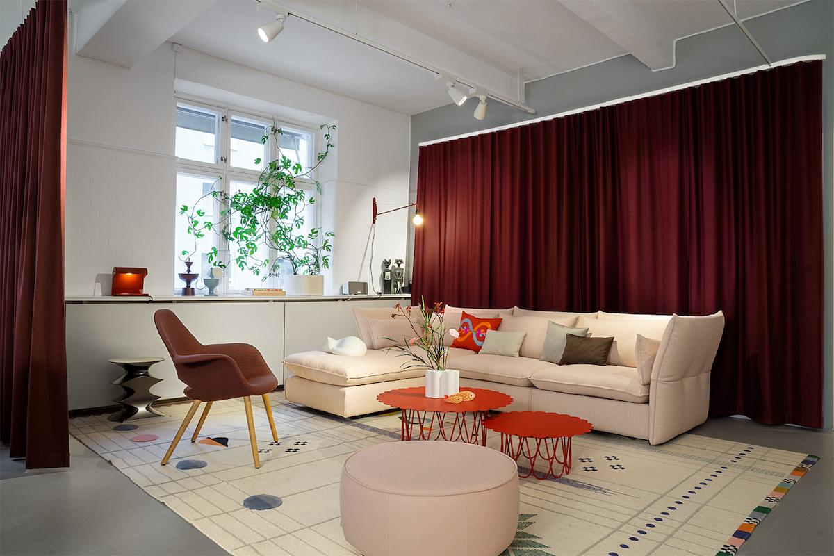 Lo showroom di Vitra a Stoccolma