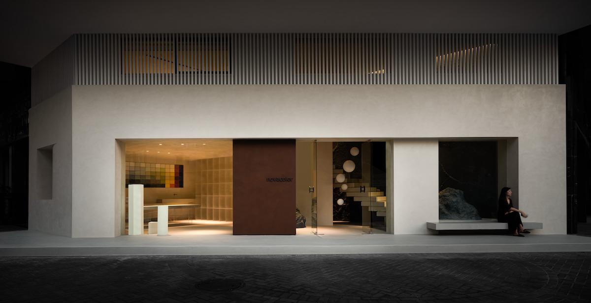 Lo showroom di Novacolor in Cina