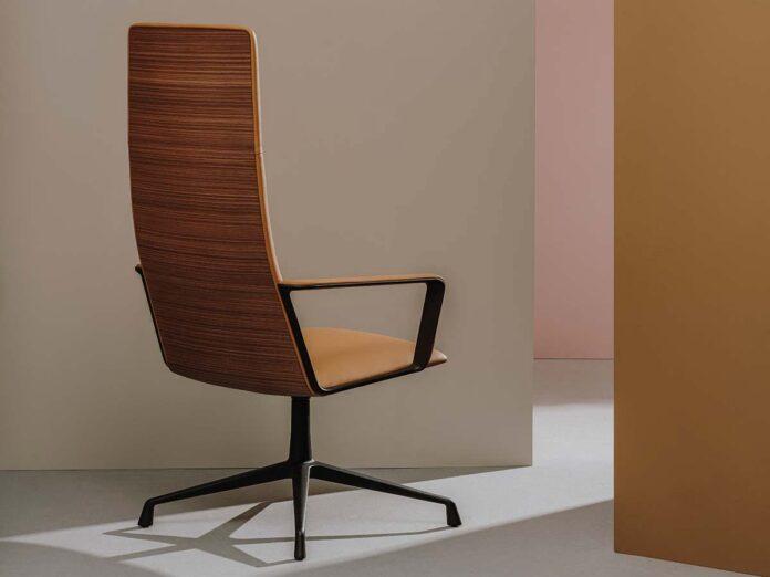 Capri Executive by Andreu World, Design Piergiorgio Cazzaniga