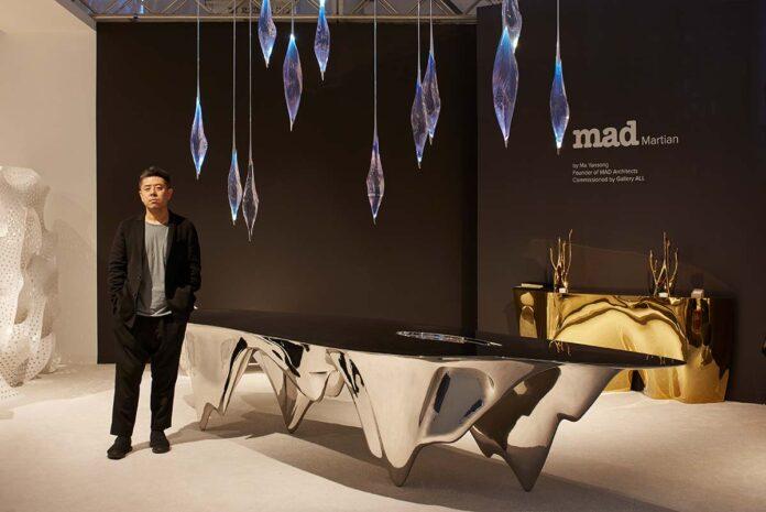 Gallery ALL, MAD Martian Collection, Design Ma Yansong, Design Miami: 2017