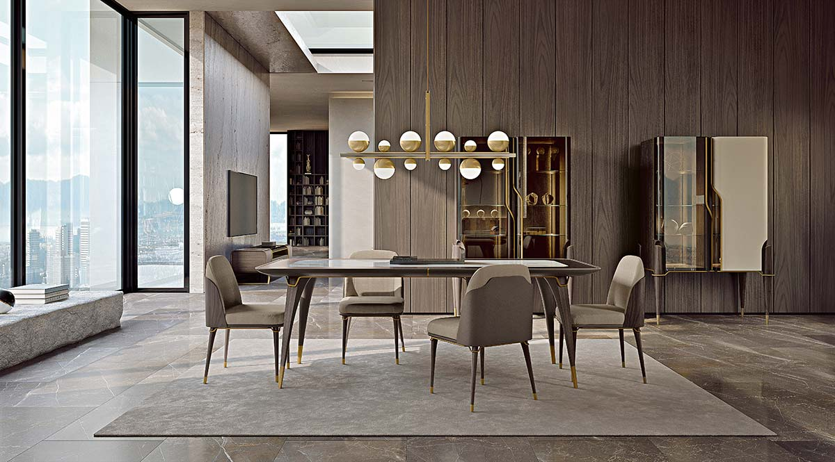 Melting Light collection by Turri, Design Frank Jiang