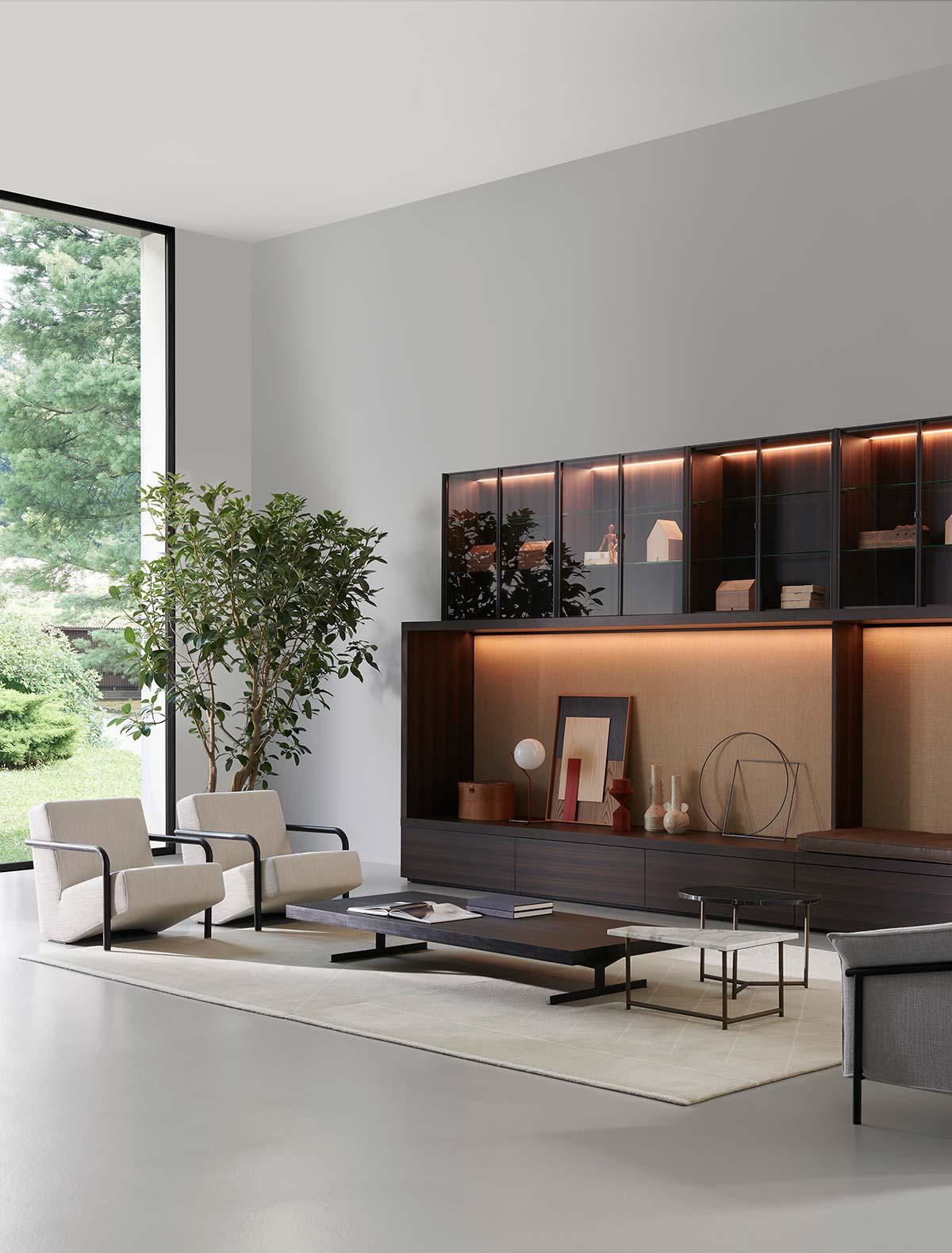 System by Porro, Design Piero Lissoni & CRS Porro
