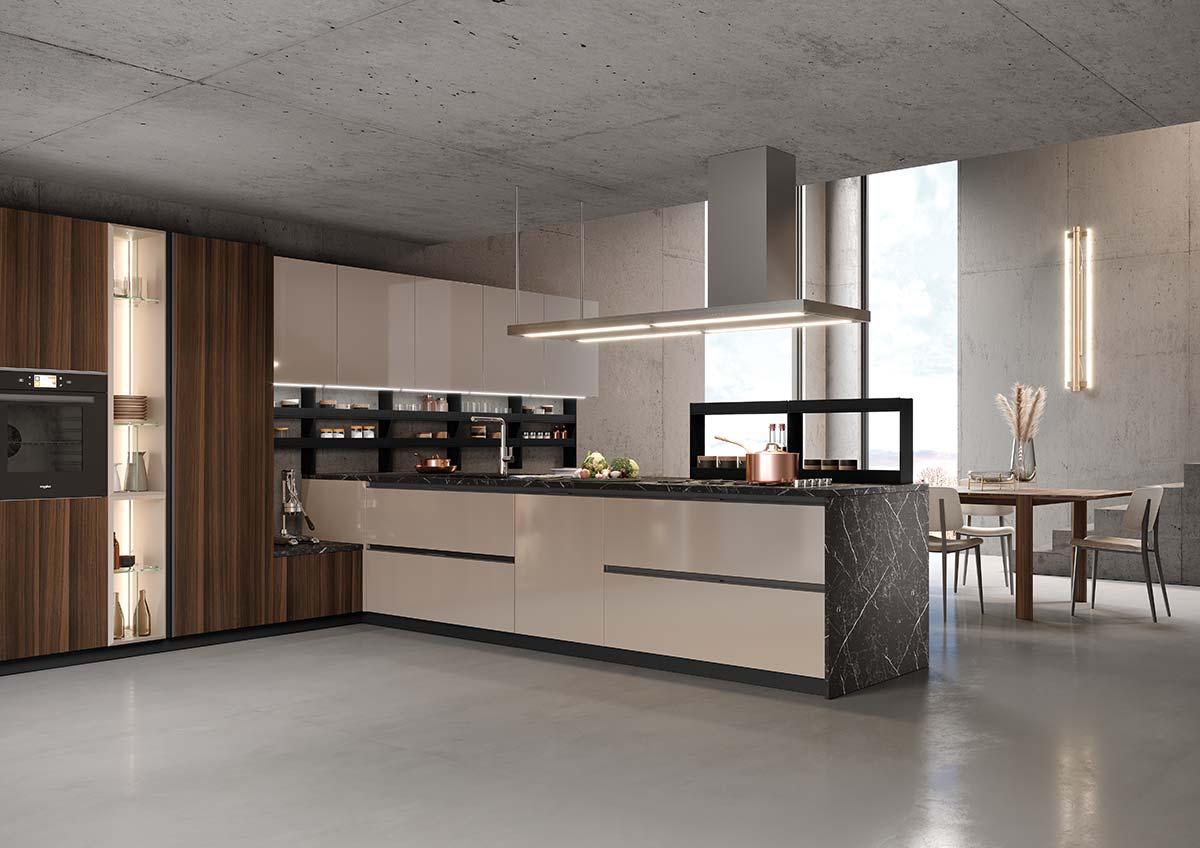 ERA, Emoziona collection by Febal Casa, Design Paolo Colombo