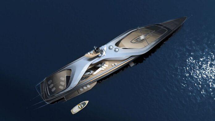 Kairos, il nuovo super yacht di Oceanco, Pininfarina e Lateral