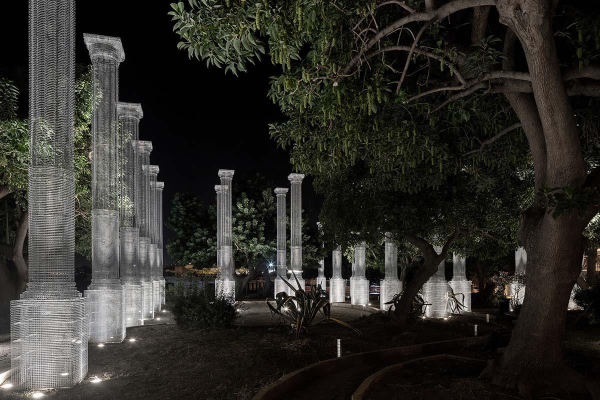Opera by Edoardo Tresoldi, Reggio Calabria, Italy - Photo © Roberto Conte