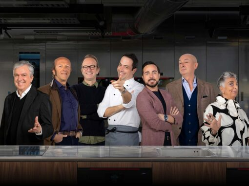 Marco Piva, Massimo Roj, Massimiliano Locatelli, Andrea Vigna, Paolo Bleve, Piero Lissoni, Paola Navone @ Taste the Architect, the new series by INDEHO
