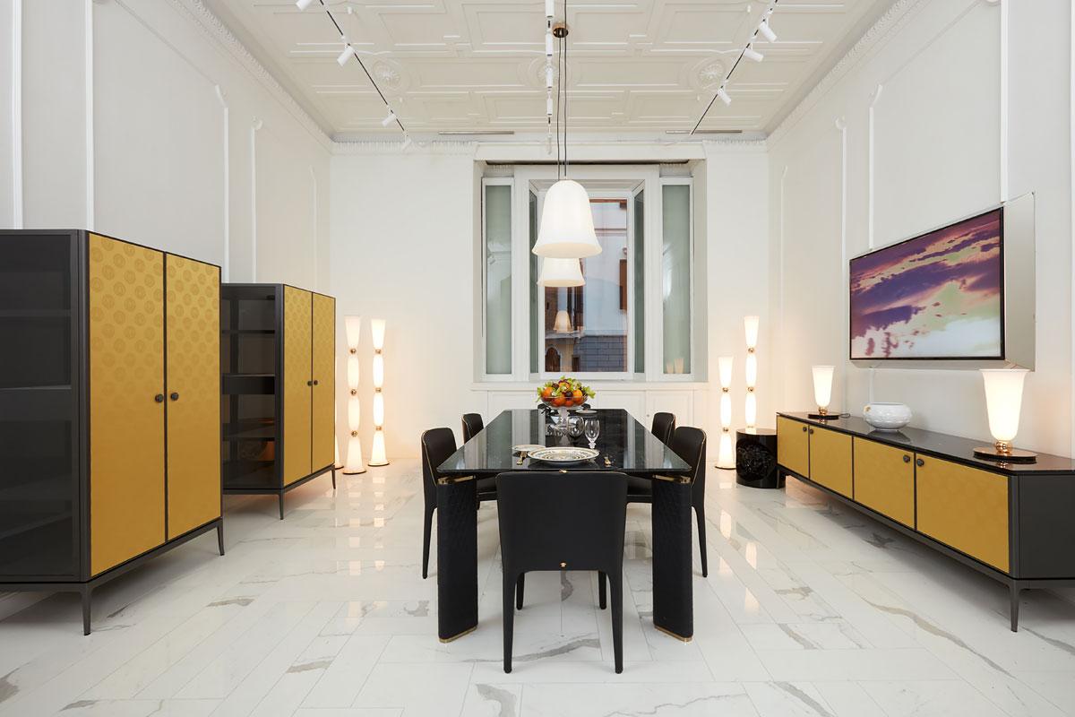 Versace Home, Milan flagship store
