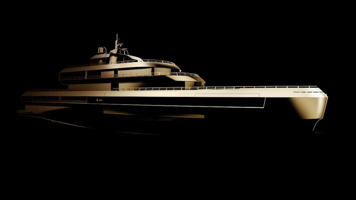 Il nuovo motor yacht Admiral di Giorgio Armani e The Italian Sea Group