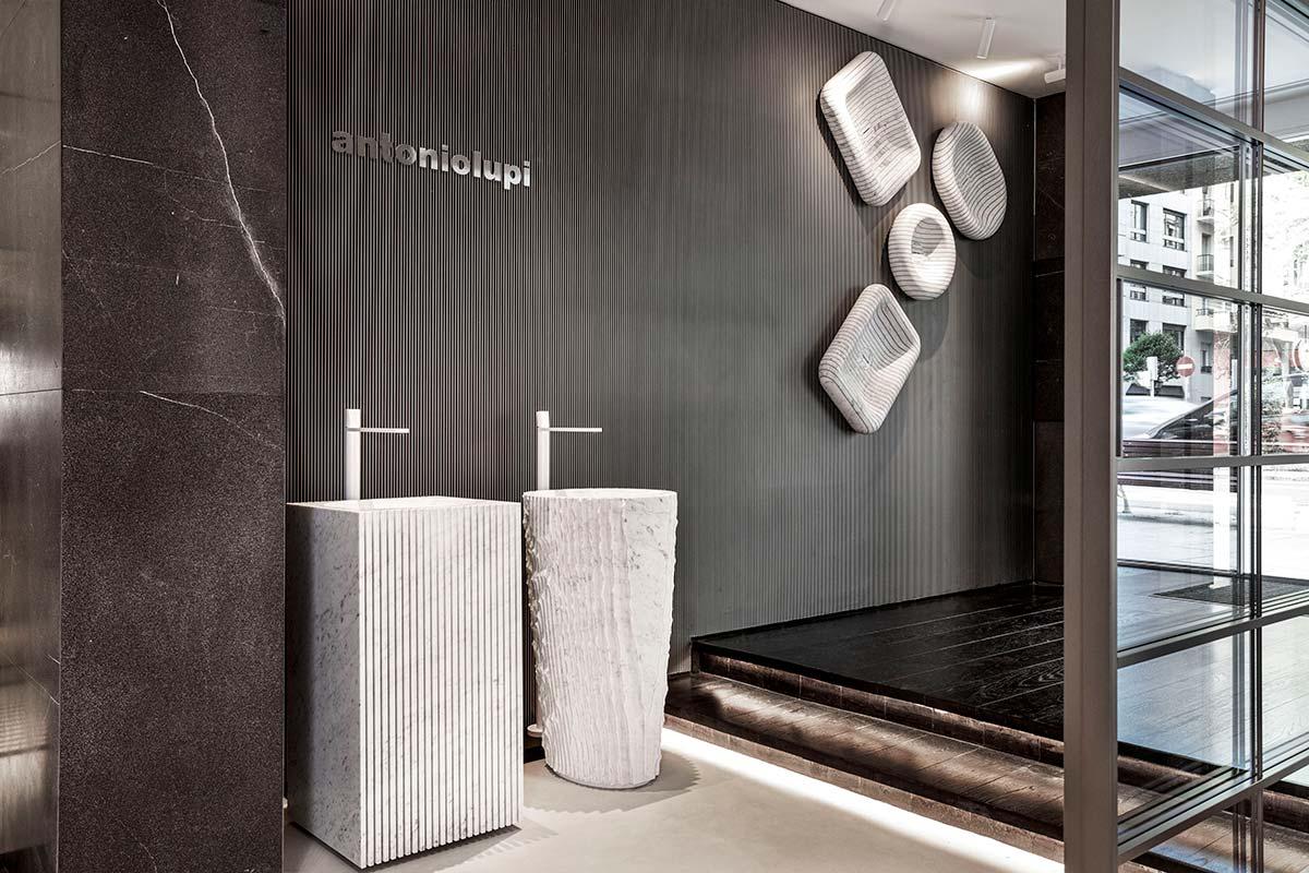 Antoniolupi showroom, Madrid