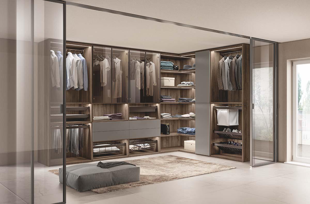 Cabina Armadio by Scavolini, Design Vuesse