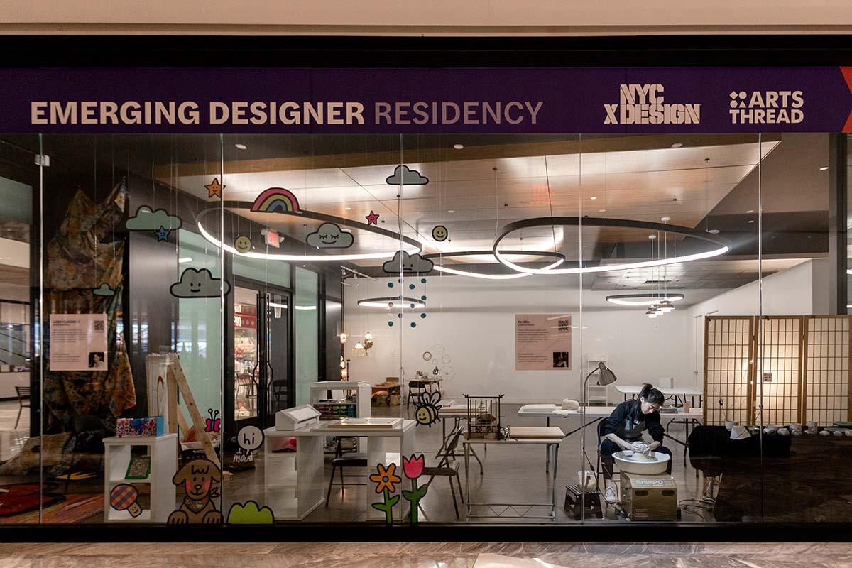 Emerging Designer Residency - Photo © Xin Min