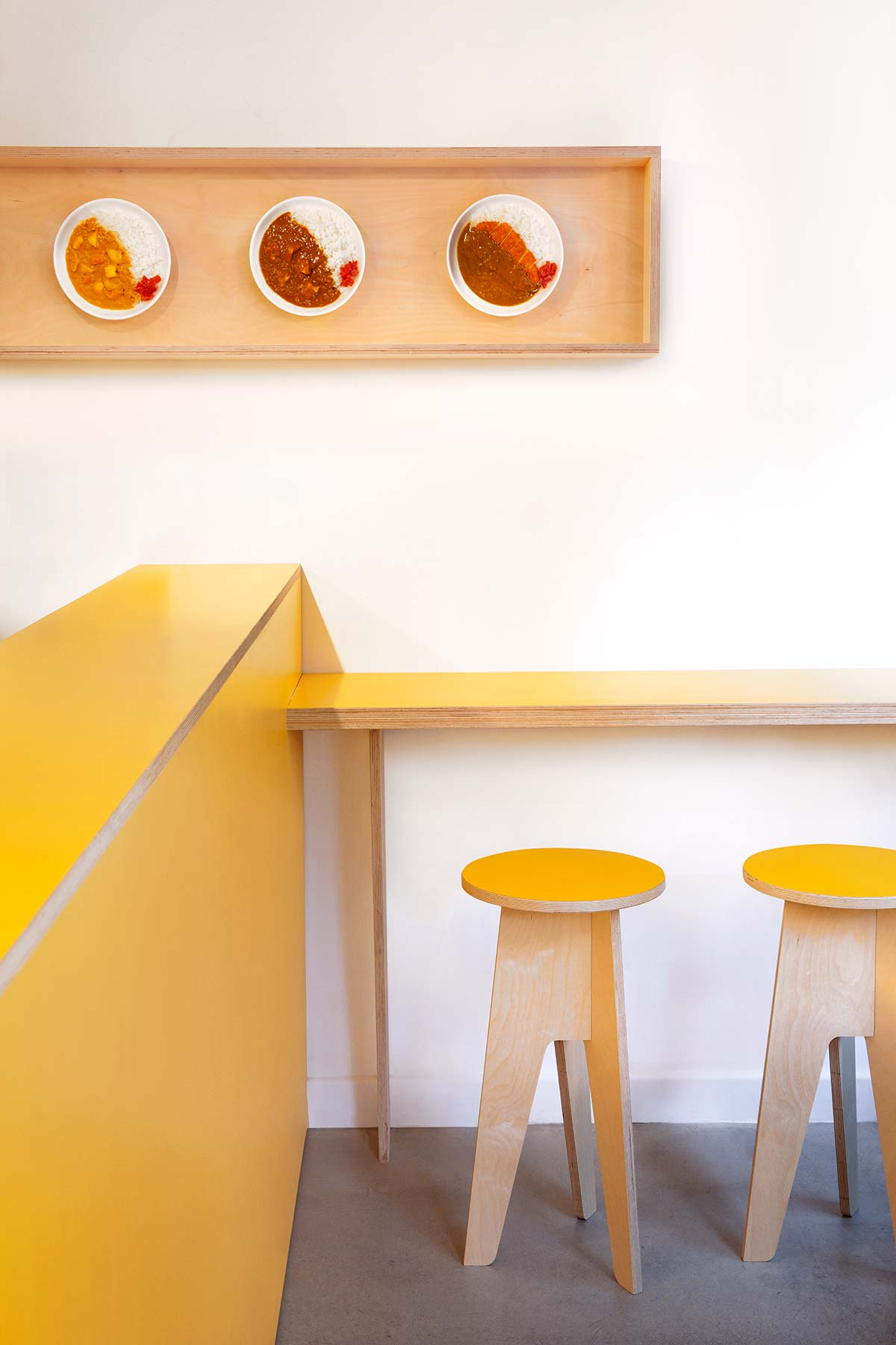 HIDEN, Japanese Curry Lab, London