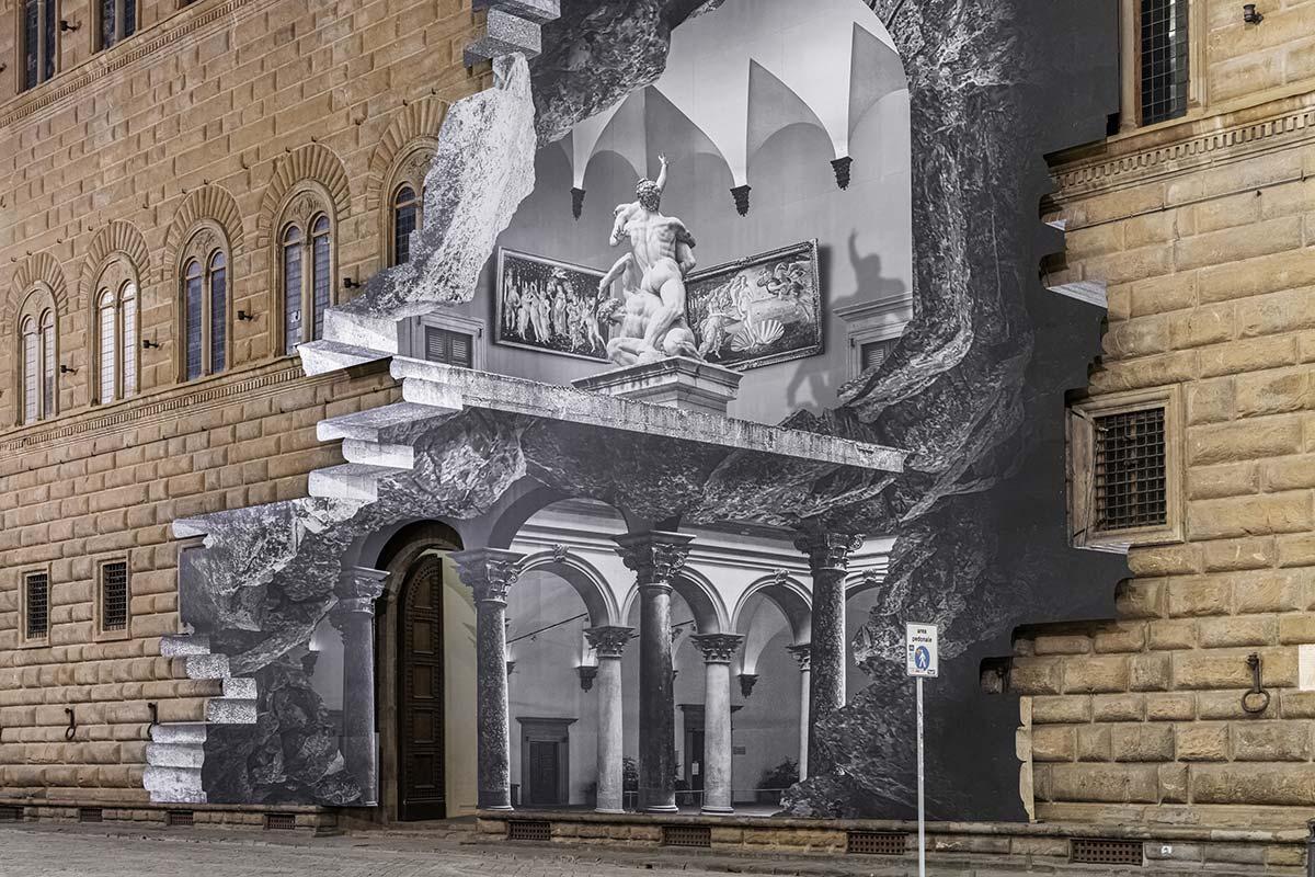 La Ferita, Palazzo Strozzi, Florence, Italy - Photo © Ela Bialkowska, OKNOstudio