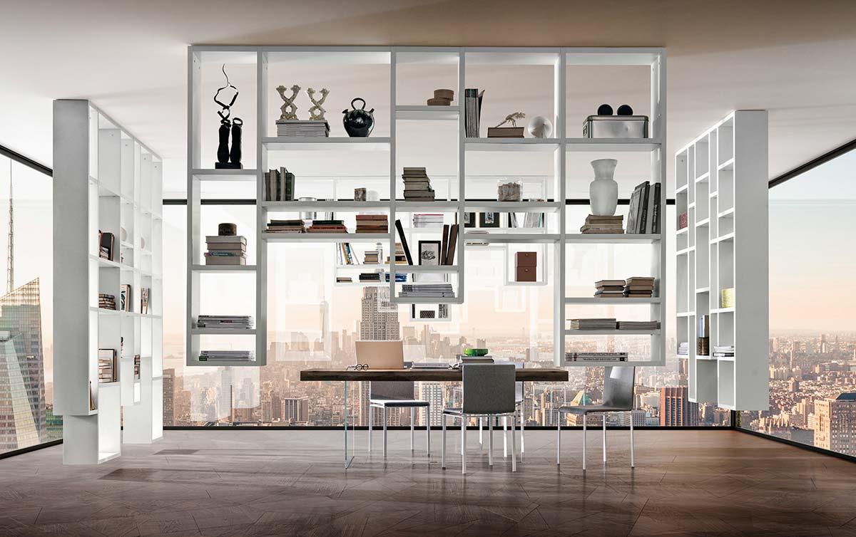 Libreria 30mm Weightless by Lago, Design Daniele Lago