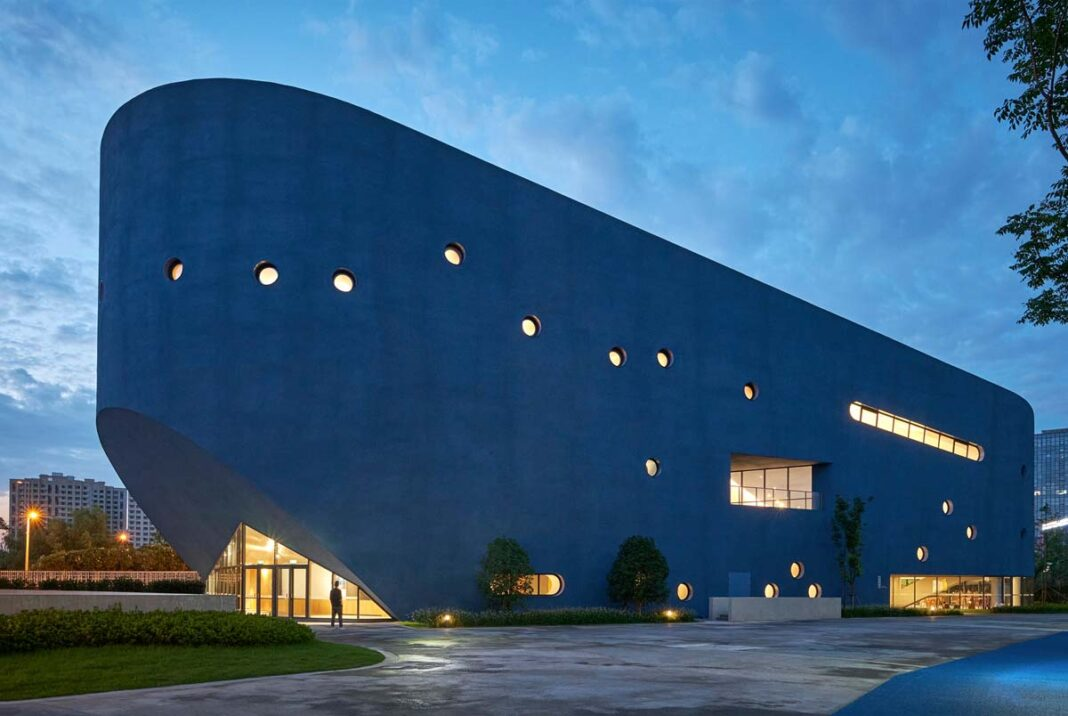 Pinghe Bibliotheater, Qingpu Pinghe International School, Shanghai