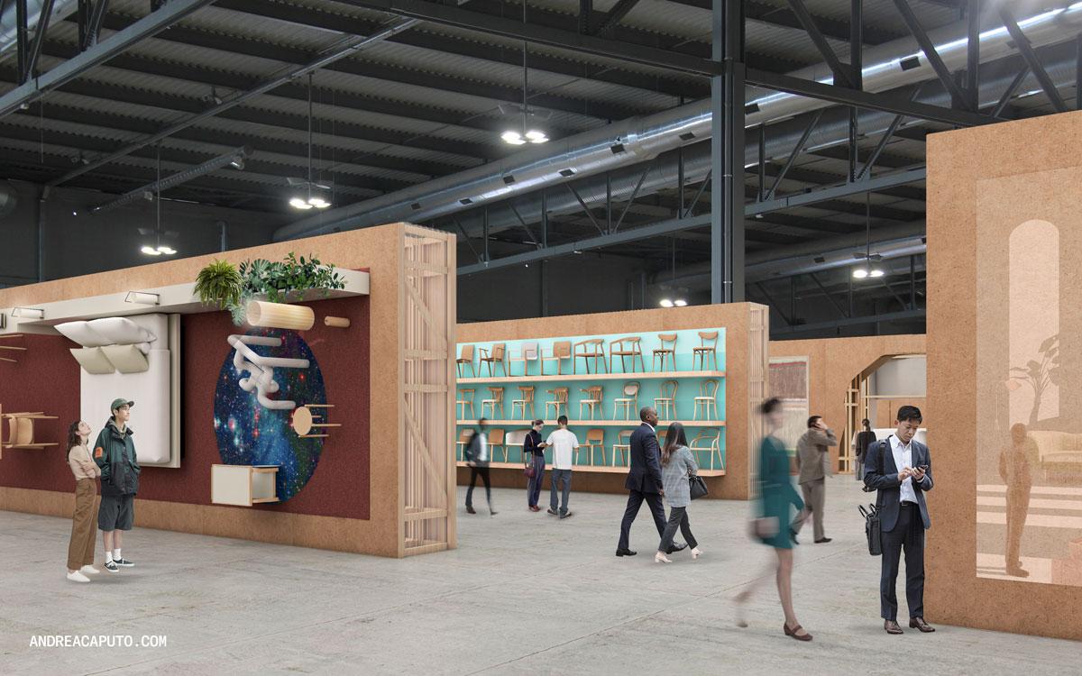 Supersalone, exhibition area. © Andrea Caputo