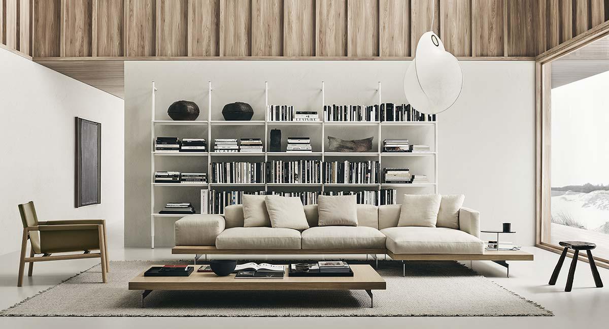 Dock sofa by B&B Italia, Design Piero Lissoni
