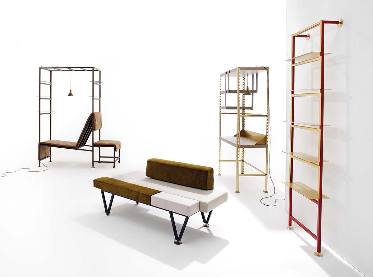 Federico Peri collection by Nilufar Gallery - Photo © Studio Rocci