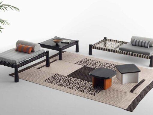 Guna collection by Gervasoni, Design Chiara Andreatti